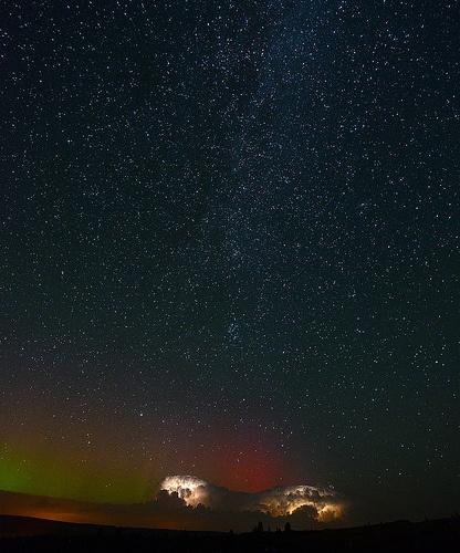 northern lights storm 6656 - Explore #6
