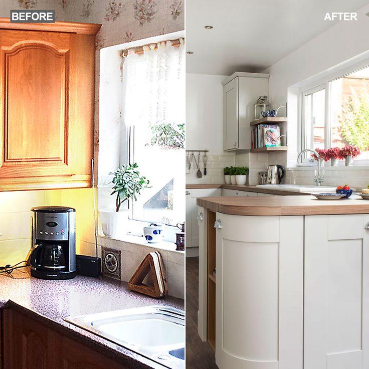 Die besten 25+ Coastal inspired open plan kitchens Ideen auf - offene küche wohnzimmer trennen