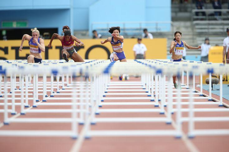 #セイコーゴールデングランプリ陸上2017川崎  女子100mには、日本記録保持者の福島千里(札幌陸協)がエントリー。   #セイコーGGP #一秒あれば世界は変わる #陸上 #等々力競技場 #女子 #100m