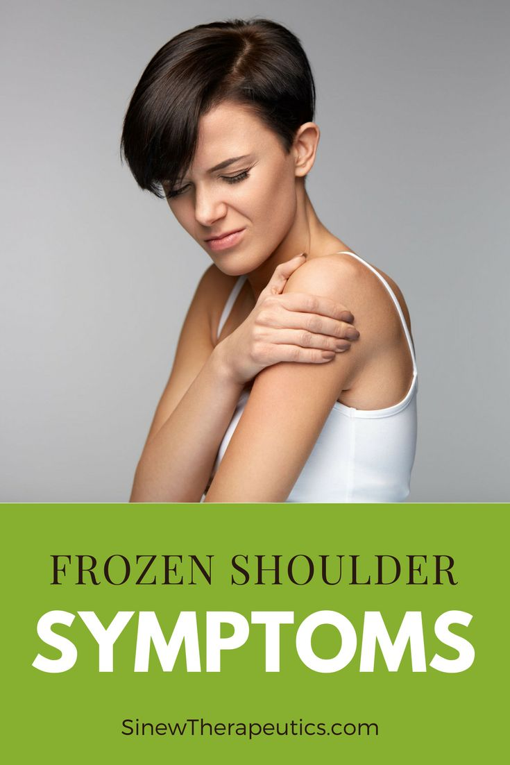 Pain that's worse at night and during colder weather is a common symptom. Learn more about Frozen Shoulder at SinewTherapeutics.com