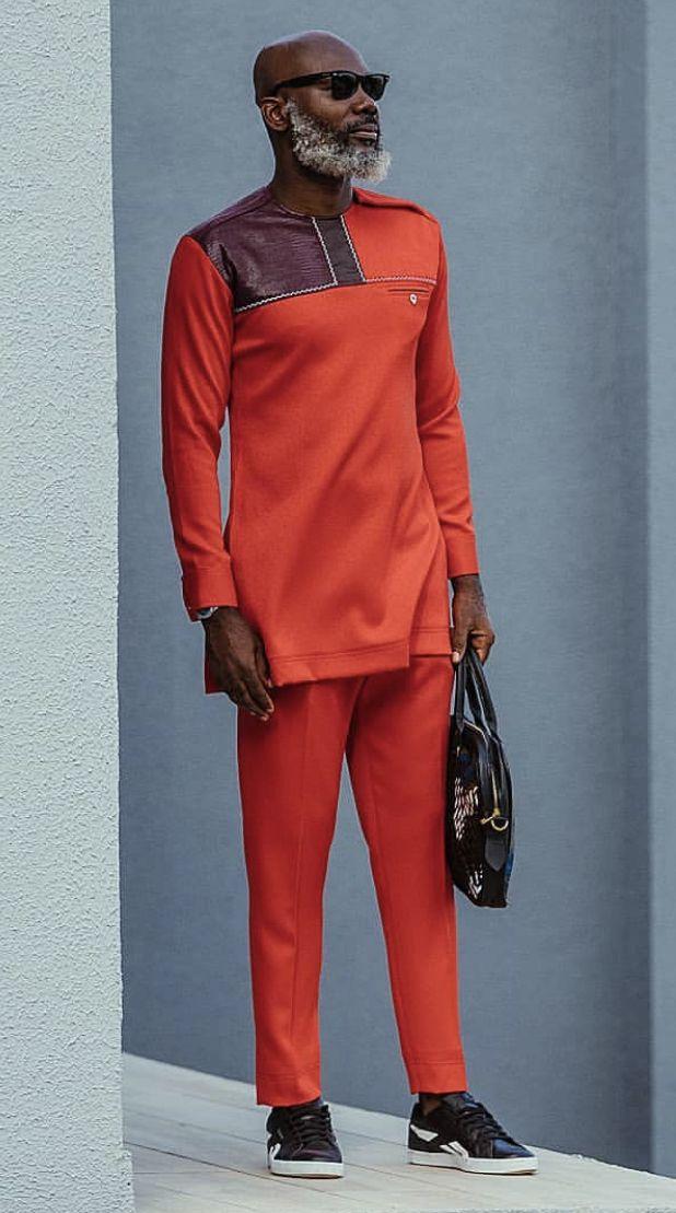 Chocolate African Shirts African Men Fashion African Wear