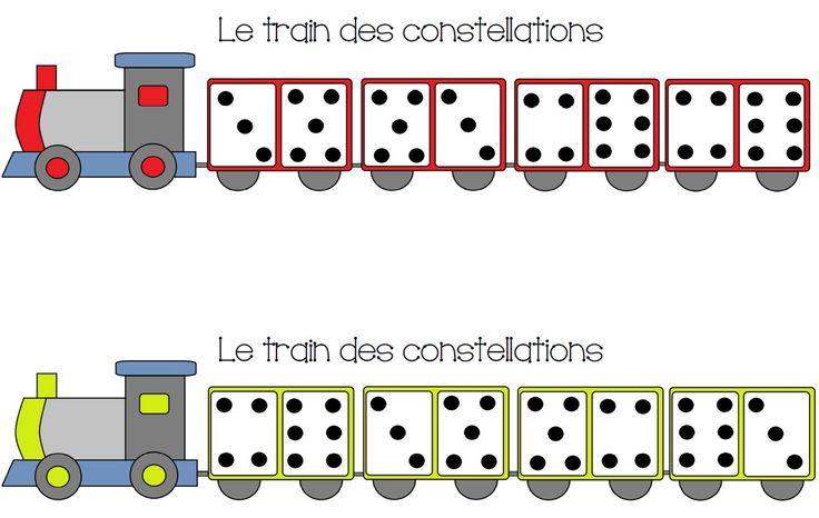 Aujourd'hui, je vous propose un petit jeu, qui rentre dans ma progression sur la construction du nombre, pour les moyens (4 ans). Il s'agit d'un petit jeu pour reconnaître les con…