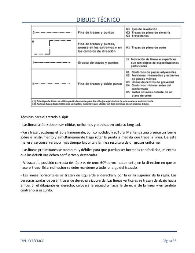 Dibujo Tecnicodibujo Tecnico Pagina 36tecnicas Para El Trazado A Lapiz Las Lineas A Lapiz Deben Ser Nitidas Uniformes Dibujo