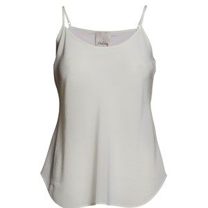 """SUST SILK Elegant camisole, white too.  Exclusive and simple camisole. The camisole has adjustable straps and is super soft. Limited. Made from 100% silk in """"dead stock"""", which means that it's made from residues from other collections. Because of that, the camisole is limited."""