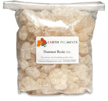 Dammar Is A Natural Resin Used As A Very Traditional Medium And Varnish.