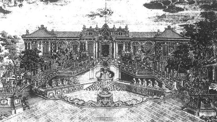 Вот был дворец в Китае - Yuanmingyuan.