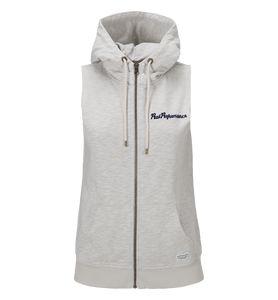 Peak Performance Women's Lite Sleeve-less Zipped Hooded Vest #vermontfashion