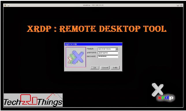 XRDP is an open source remote desktop protocol server. With the help of xrpd, we can remotely able to access GUI [graphical user interface] of Linux systems. Based on the work of FreeRDP and rdesktop, xrdp uses the remote desktop protocol to present a GUI to the user.