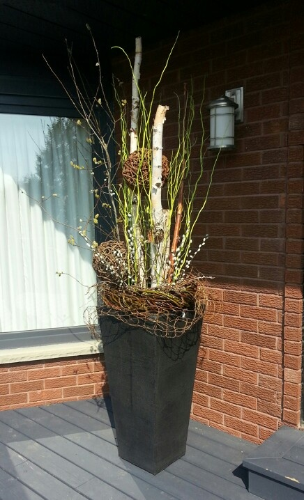 Custom Urn by Panache Design Works! Learn tricks at one of our workshops! http://www.panachedesignworks.ca/