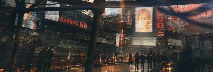 ArtStation - Hotel Zero, Michael Morris