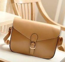 Women Girl Fashion Satchel PU Leather Handbag Messenger Shoulder Bag Tote Purse  BAOK-712e  Price: US $16.98  Sale Price: US $8.49  #dressional