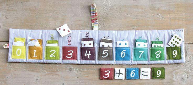 """jeu """"Baluchon pour apprendre"""" - Zazobouzi boutique - Createur mode enfant, bebe, Cadeau Naissance, Vetement bebe, enfant"""