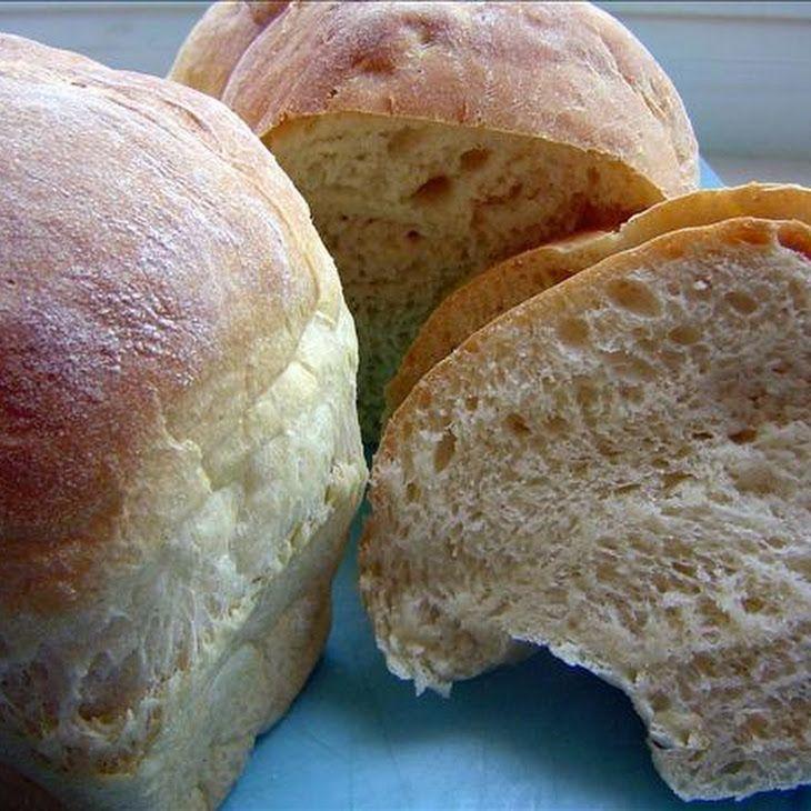 Awesome Homemade Crusty Bread (Bread Machine) Recipe #vegan #bread #recipe