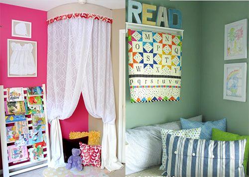 Оформление уголка для чтения. Как организовать в комнате ребенка уголок для чтения, чтобы процесс чтения был не только удобным и безопасным для здоровья, но чтобы ребенку захотелось возвращаться туда снова и снова?