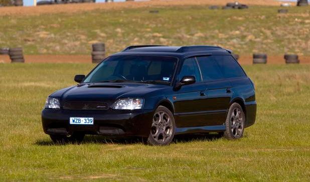 Subaru Legacy Blitzen..... thats tight for station wagon lol
