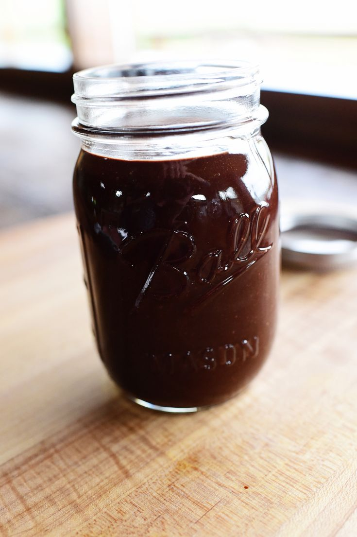 Hot Fudge Sauce. Pretty Cocoa-y so be prepared to add more sugar as may be needed.