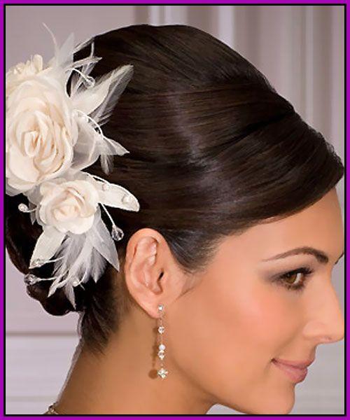 high wedding bun | Sleek Wedding Hairstyles For Wedding Day | Hairstyles Trendy
