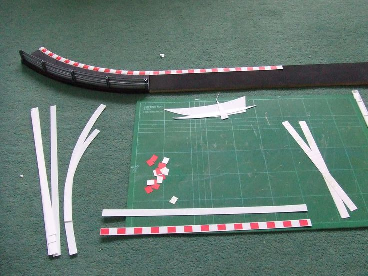 how to build a commercial slot car track