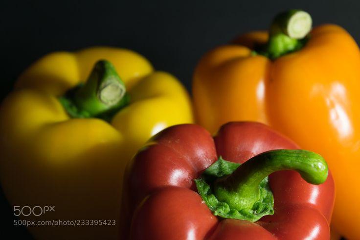 Peppers 3 (Jeff Montgomery / Houston / USA) #NIKON D5300 #food #photo #delicious