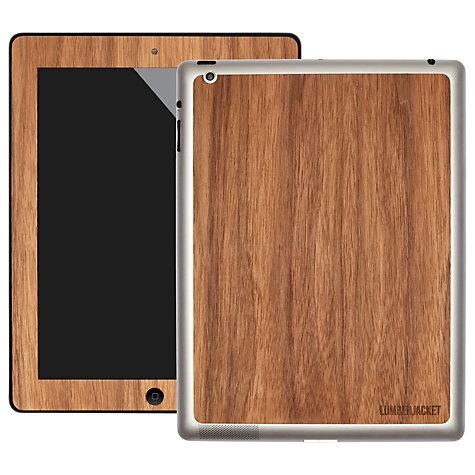 Buy Lumberjacket, Wooden Skin for iPad 2, 3rd generation iPad & iPad with Retina Display, Walnut online at John Lewis