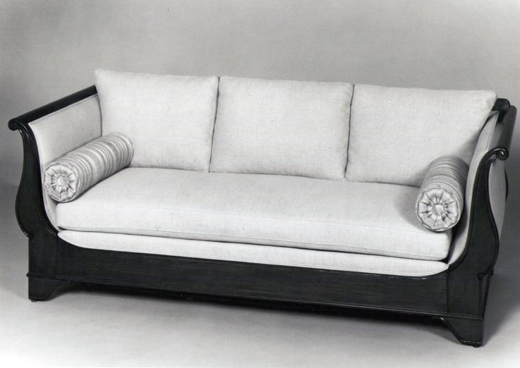hideabed couch | French Empire Sofa/Hideabed | G. T. Ohman Fine Furniture