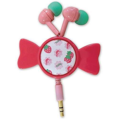 Bandai Milky reel to reel stereo Strawberry Milky MLK-18B