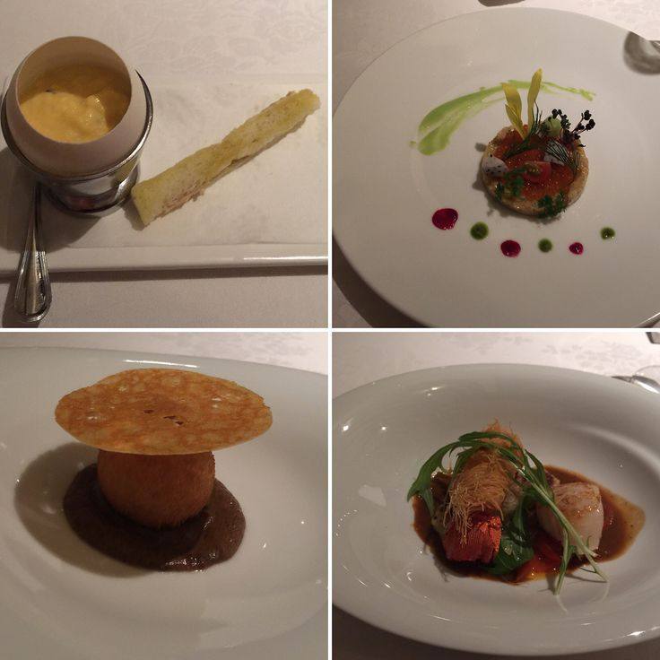 Early Valentines dinner at the Iron Chef Sakais French restaurant.  The food the staff and the ambiance everything was fabulous! : 1日早いバレンタインディナーに行って来ました料理の鉄人坂井シェフの所 : : #earlyvalentines #originalironchef #ironchef #ironchefsakai #truffles #foiegras #salmon #scallops #lobster #venison #framboise #mousse #バレンタインディナー #料理の鉄人のお店 #料理の鉄人 #坂井シェフ #坂井シェフのお店 #トリュフ #フォアグラ #鮭 #ホタテ #鹿肉 #フランボワーズ #ムース #okinawa #japan #沖縄 #日本