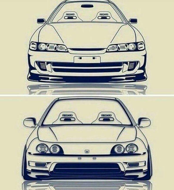 Honda/Acura Integra JDM VS USDM
