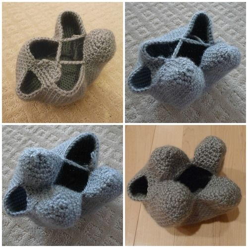 "Amigurumi technique for seamlessly creating legs with ""leg chains"". 