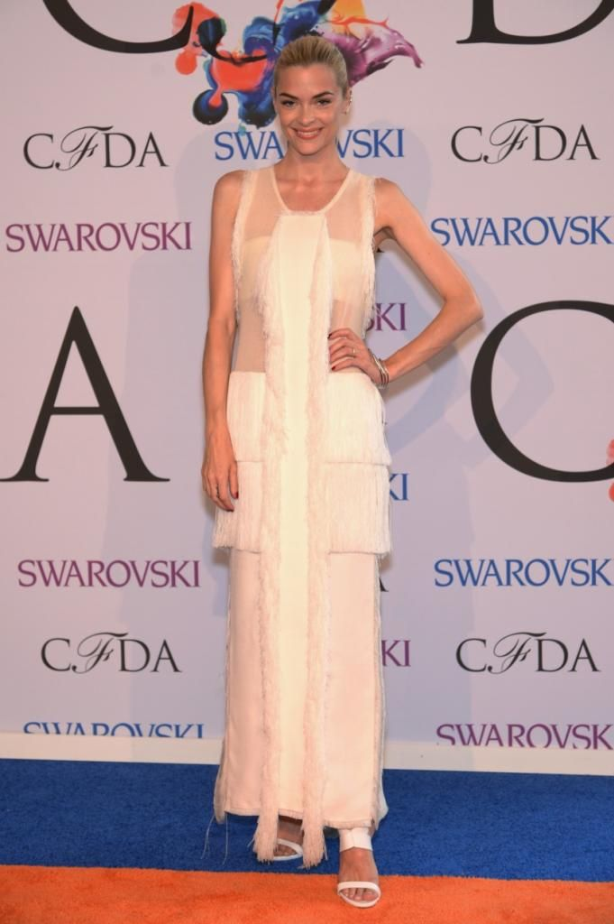 Jaime King in Calvin Klein at the 2014 CFDA Awards