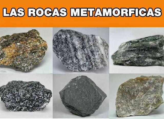 ¿Cuáles son las rocas metamórficas?