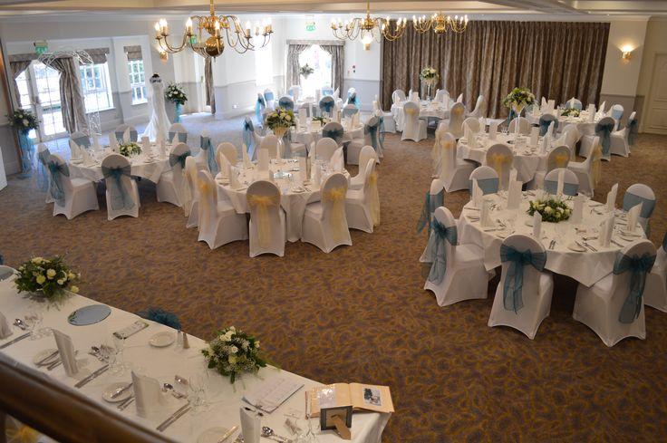 Albrighton Suite, Weddings, Julie Nicholas florist