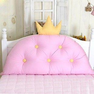 В Корейском стиле розовая принцесса корона для  изголовья большая подушка для девочки