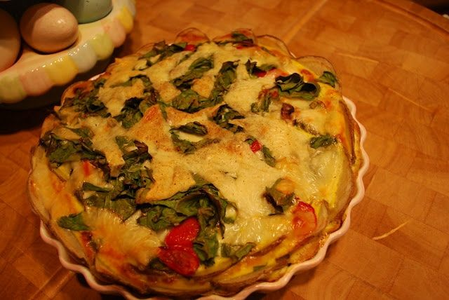 potato crusted veggie quiche | Obsessed About Quiche | Pinterest