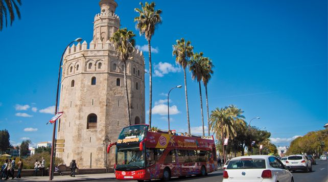 City Sightseeing Seville, Hop On - Hop Off Bus Tours