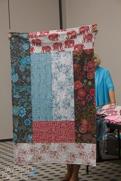 quilt back...just piece together pieces!... you could use whatever you have and make it unique!