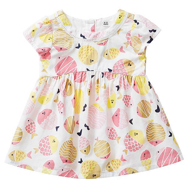 Baby Danni Fish Print Dress
