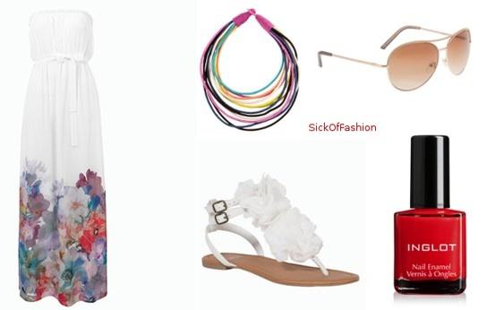 Summer maxi dress F.