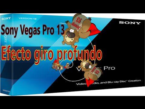 Sony Vegas Pro 13 | Tutorial | como hacer efectos de giro en movimiento