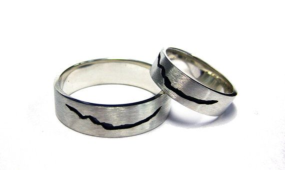 Inspired by Matt Smith's Doctor Who - the Crack in Space and Time Ring    This ring makes reference to the crack through which prisoner zero escaped his