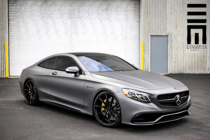 Matte Grey Mercedes S63 AMG Coupe
