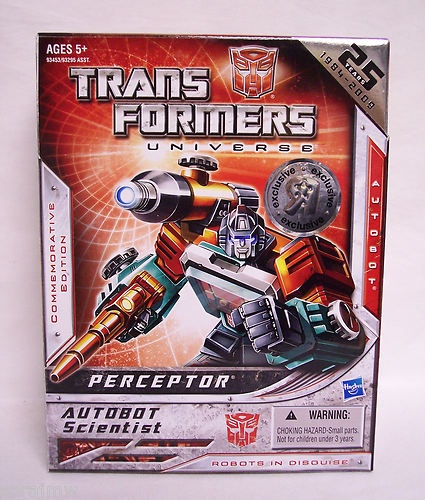 Transformers 25th anniversary reissue toys r us exclusive perceptor