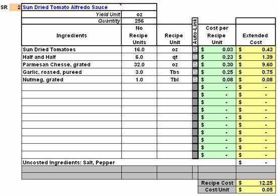 Restaurant Inventory, Recipe Costing & Menu Profitability Workbook Version 2.2: Restaurant Resource Group: Restaurant Accounting, Operations Spreadsheets, Training Manuals, Invento