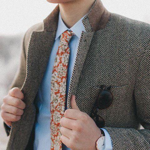 The burnt orange floral tie (Affiliate) Groom | Grooms Outfits | Advice for Grooms | Grooms Accessories | Wedding Suit | Groom Attire | Wedding Tie | Cravats | Buttonholes | Groomsmen | Groomsmen Outfits | Advice for Groomsmen | Groomsmen Accessories | Wedding Suits | Groomsmens Attire | Grooms Tie | Groomsmens Cravats | Groomsmens Buttonholes | Wedding Party