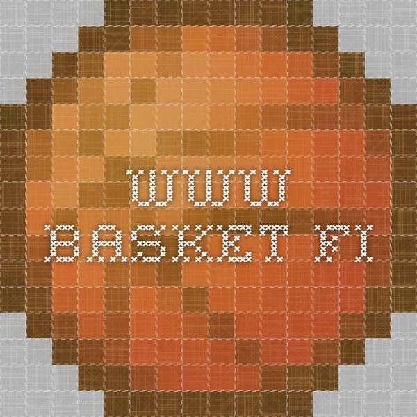 www.basket.fi Opetusmateriaali opettajille - koripallo