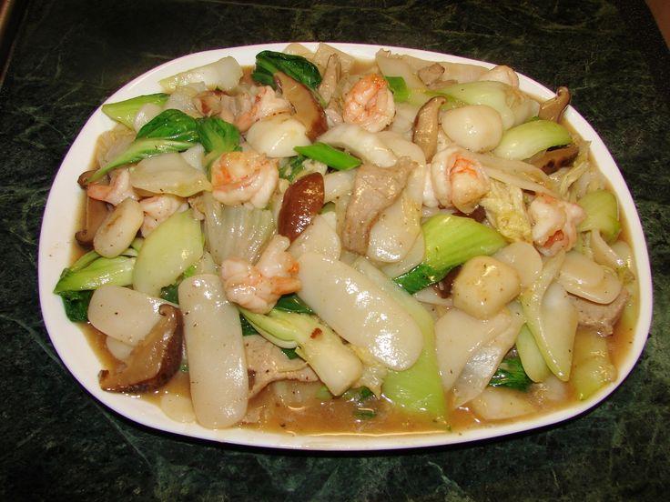 Sticky Rice Cake & Vegetable - Smackchow.com