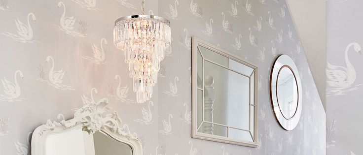 Helena Spiral Small Chandelier at Laura Ashley