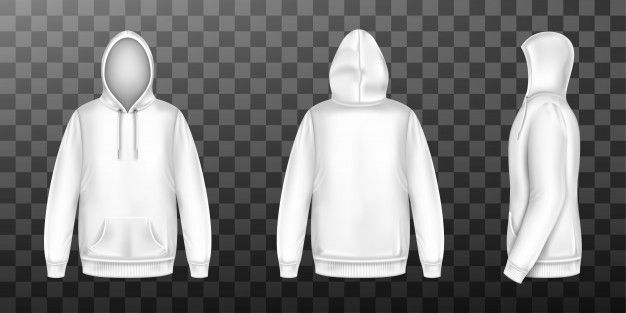 Download Download Hoody White Sweatshirt Mock Up Front Side Back Set For Free Casual Urban Style Urban Fashion Hoodies Men
