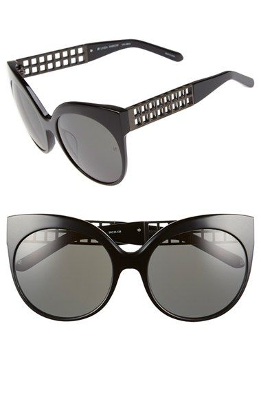 Linda Farrow 59mm Cat Eye Sunglasses available at #Nordstrom