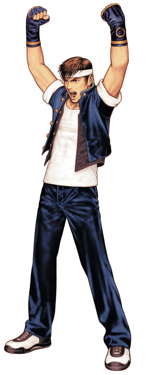 Shingo Yabuki from King of Fighters 2000